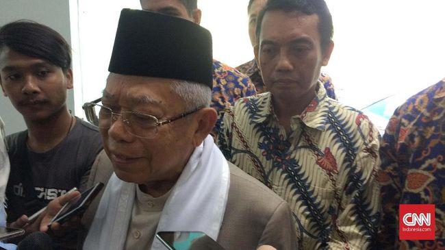 Ma'ruf Sebut Peran Besar Habibie untuk IPTEK Indonesia