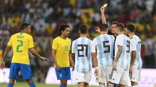 Rivalitas di Setiap Zaman Brasil vs Argentina