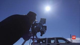 VIDEO: Warga Chile Bersiap Amati Gerhana Matahari Total