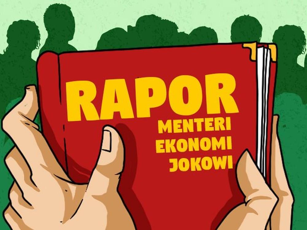 Rapor Menteri Ekonomi Joko Widodo