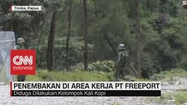 VIDEO: Terjadi Penembakan di Area Kerja PT. Freeport