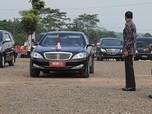 Mercy & BWM Adu Rayu Jadi Mobil Dinas Baru Jokowi