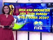 Jika Indonesia Tuan Rumah Piala Dunia, Begini Nih?