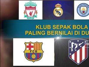 Klub Sepak Bola Paling Bernilai di Dunia