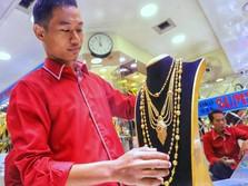 Harga Emas Dunia Cetak Rekor Lagi, Harga Koin Dinar Berapa?