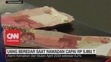 VIDEO: Uang Beredar Saat Ramadan Capai Rp. 5.861 Triliun