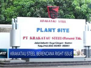 Krakatau Steel Berencana Right Issue