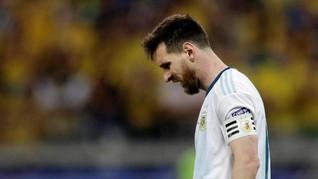 Messi Dapat Penghargaan dari Paus Fransiskus