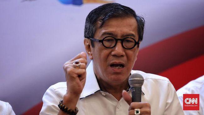 Jawab Kritik Jokowi, Yasonna Akui Hukum-HAM Harus Diperbaiki