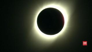 VIDEO: Gerhana Matahari Total Memukau Ribuan Orang Chile