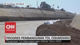 VIDEO: Progres Pembangunan Tol Cisumdawu