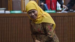 KPK akan Panggil Gubernur Khofifah Jadi Saksi Sidang Romi