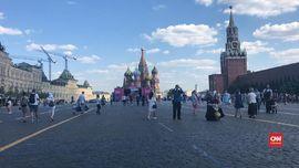 VIDEO: Ceria Musim Panas Singkat di Moskow