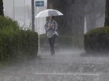 BMKG: Sulawesi, Gorontalo dan Daerah Lain Besok Hujan Lebat