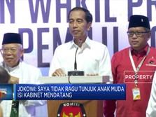 Peluang Anak Muda Di Kabinet Jokowi-Ma'ruf