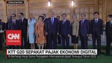 VIDEO: KTT G20 Sepakat Pajak Ekonomi Digital