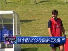 Leicester Tolak Tawaran MU Rp 1,2 Triliun untuk Harry Maguire