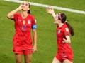 FOTO: Amerika Serikat Bungkam Inggris di Piala Dunia Wanita