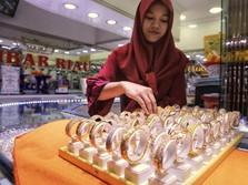 Ekspor Perhiasan dan Permata Jatuh 14% di Juli 2019