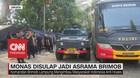 VIDEO: Monas Disulap Jadi Asrama Brimob