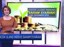 Kocok Ulang Indeks Saham Syariah