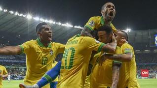 VIDEO: Brasil Kalahkan Argentina di Semifinal Copa America