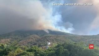 VIDEO: Gunung Meletus di Italia Tewaskan Turis