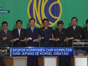 Demi Keamanan, Jepang Perketat Ekspor ke Korsel