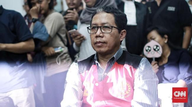 Sidang tuntutan merupakan yang keempat bagi Joko Driyono dalam kasus ini.Sidang di Pengadilan Negeri Jakarta Selatan setelah sempat tertunda hingga dua kali.(CNN Indonesia/Andry Novelino)