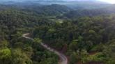 Pemandangan KampungWarga kampung tersebut sudah lama merasakan ketidakadilan di bidang energi. (ANTARA FOTO/Akbar Nugroho Gumay)