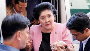 Eks Ibu Negara Filipina Gelar Pesta, Ratusan Tamu Keracunan