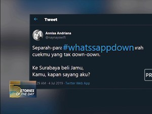 Stories Of The Day, Kamis 4 Juli 2019