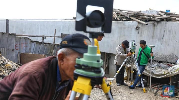 Yuk, Intip Persiapan Pembangunan Tanggul Laut di Jakarta