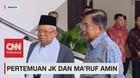 VIDEO: Pertemuan JK dan Ma'ruf Amin