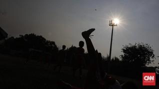 FOTO: Stadion Tugu Segera Bersolek Demi Persitara