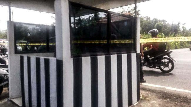 Penembakan di Pospol Kulon Progo, Polisi Lakukan Penyisiran