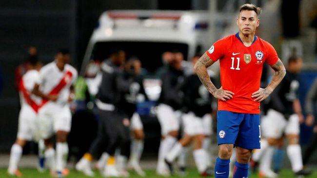 Vargas Bikin Chile Semakin Malu di Semifinal Copa America