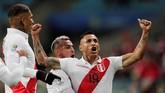 Peru akan menghadapi Brasil di partai final Copa America 2019. (REUTERS/Ueslei Marcelino)