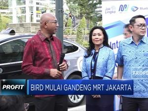 Bangun Koneksi, Bird Gandeng MRT Jakarta