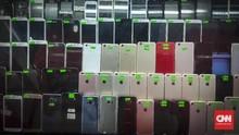 Ratusan Ponsel Selundupan Batam Diamankan di Bengkalis