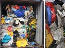 Jorok! Ini Penampakan Sampah Impor yang Tepergok Bea Cukai