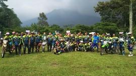 Masih Bernyali, Ratusan 'Riders Gaek' Siap Keliling Hutan