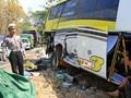 Kronologi Kecelakaan Bus di Lampung Hingga 8 Orang Tewas
