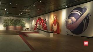 VIDEO: Museum Wien 'Dicorat-coret' Seniman Jalanan