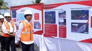 Jokowi: Pembebasan Lahan Tol Manado-Bitung Sisa 13 Km