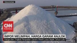 VIDEO: Impor Melimpah, Harga Garam Anjlok
