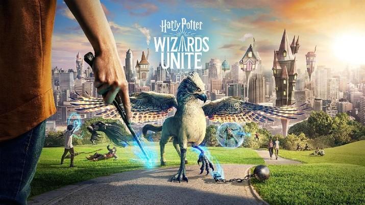 Seminggu setelah peluncuran Game Harry Potter telah diundung 3 juta kali sementara Pokemon Go ketika seminggu setelah peluncuran diundung 24 juta kali.