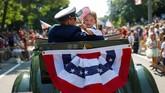 Namun, sebagian warga AS mengaku tak antusias mendengar pidato Trump di Hari Kemerdekaan ini. (Reuters/Mike Segar)