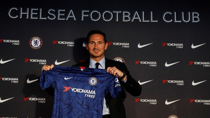 Tegasnya Lampard di Chelsea: Telat Latihan Denda Rp 361 Juta!