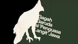 INFOGRAFIS: Gagah Garuda si 'Penguasa Langit' Jawa